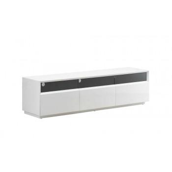 023 TV Stand, White High Gloss