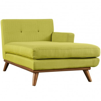 Engage Right-Arm Chaise, Wheatgrass by Modway