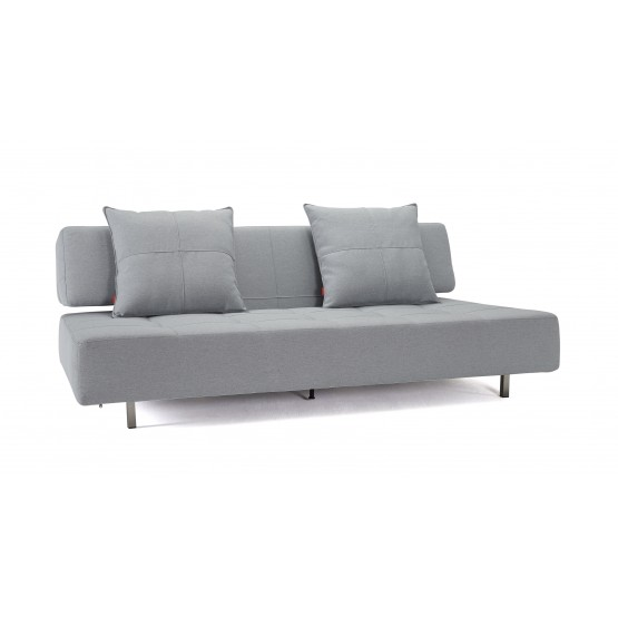 Long Horn Sofa Bed, 552 Soft Pacific Pearl Fabric photo