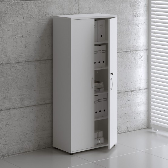 Basic K5104 Shelving Storage, White photo