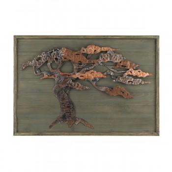 Wood And Metal Tree Wall Art