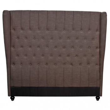 Alice Queen Wing Headboard, Umber by NPD (New Pacific Direct)