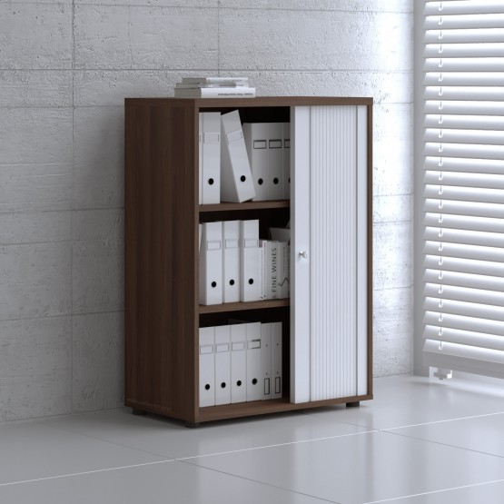 Tambour Pro Storage Unit IA3L04, Lowland Nut + White Front photo
