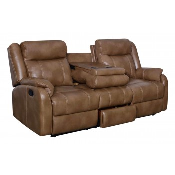 U7303C Sofa, Walnut
