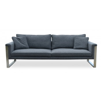 Boston Sofa, Dark Grey Camira Wool by SohoConcept Furniture
