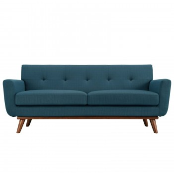 Engage Upholstered Loveseat, Azure by Modway
