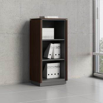 Status Open Storage Cabinet X39, Chestnut