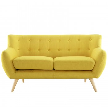 Remark Loveseat, Sunny by Modway