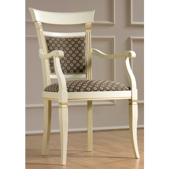 Treviso Dining Armchair, White Ash photo