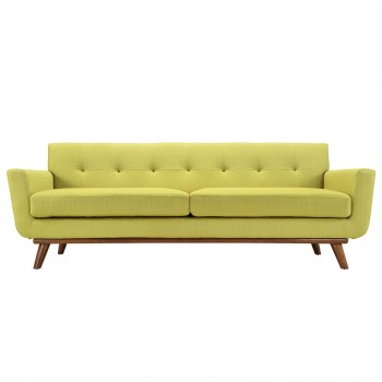 Engage Upholstered Sofa, Wheatgrass by Modway