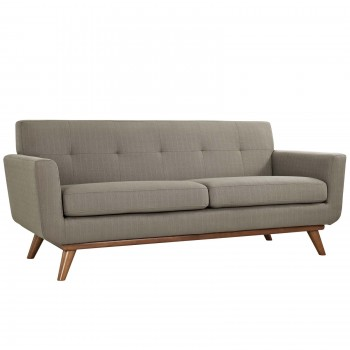 Engage Upholstered Loveseat, Granite by Modway