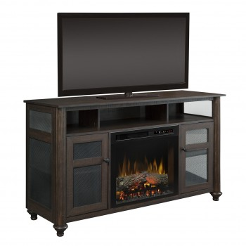 Xavier Media Console, Realogs Firebox, Brown