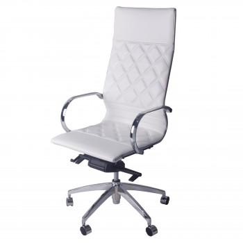 Atlas PU Office Chair, Iceberg White