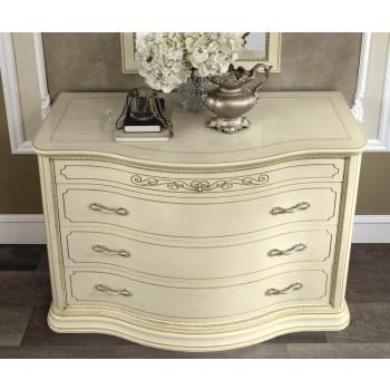Torriani Vip Single Dresser, Ivory