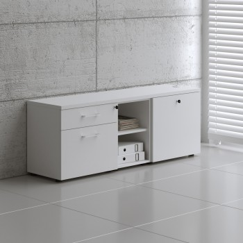 Managerial Storage A12M, White