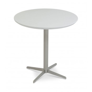 Diana End Table, White Lacquer by SohoConcept Furniture