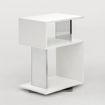 Airone Side Table, Matt White