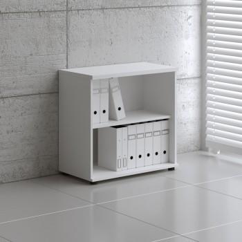 Basic K2504 Open Storage, White