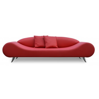 Harmony Sofa, Red PPM by SohoConcept Furniture