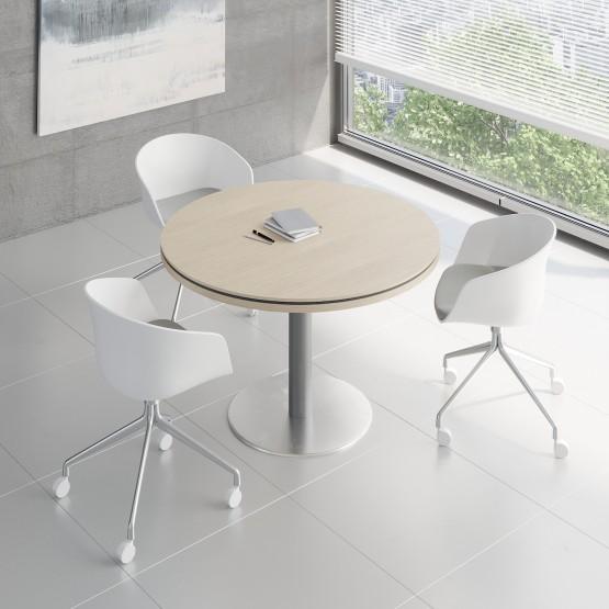 Status Small Table X120, Canadian Oak photo