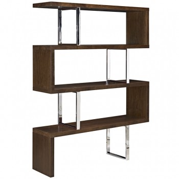 Meander Stand, Walnut by Modway