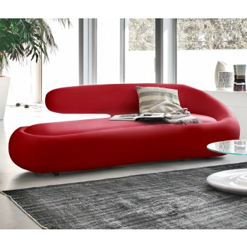 Duny Sofa, Red Leather