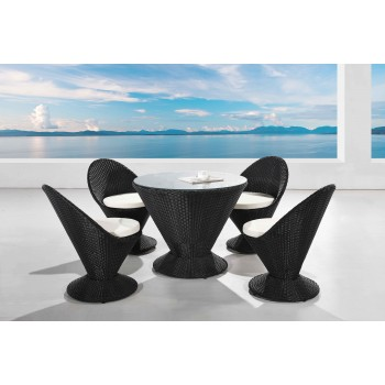 Martini 5-Piece Patio Furniture Set by Ceets