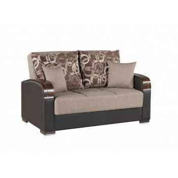 Mobimax Loveseat, Brown by Casamode