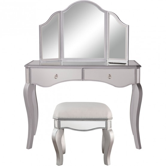 Contempo MF6-2014S Vanity Table Set photo