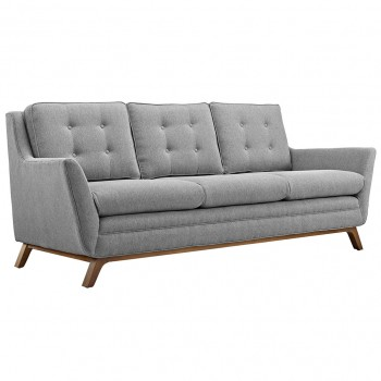 Beguile Fabric Sofa, Expectation Gray by Modway