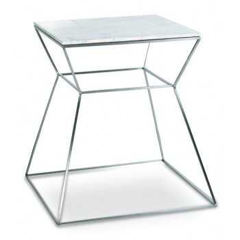 Gakko End Table, Marble by SohoConcept Furniture