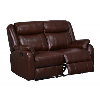 U9303С Loveseat, Brown by Global Furniture USA