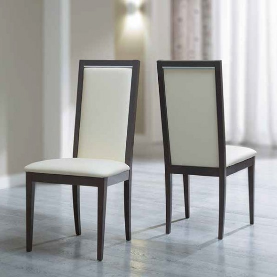 Platinum Liscia Dining Chair, Ivory Avorio photo