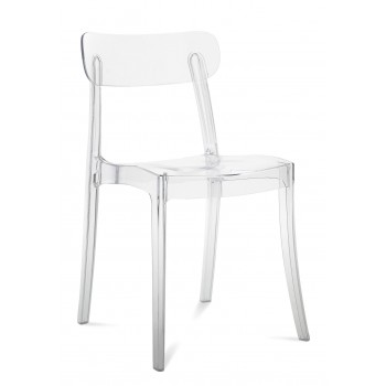 New Retro Chair, Transparent Polycarbonate