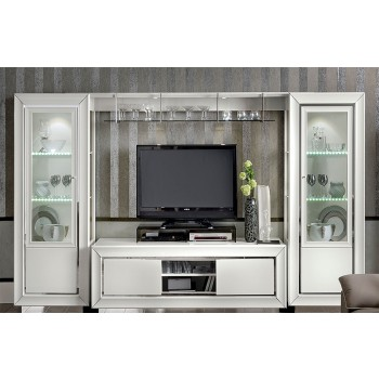 Dama Bianca Wall Unit w/Bridge