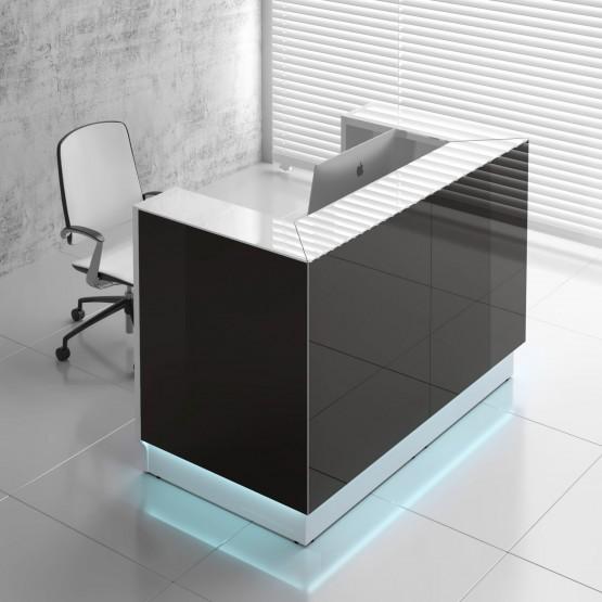 Linea LIN43 Reception Desk, Black photo