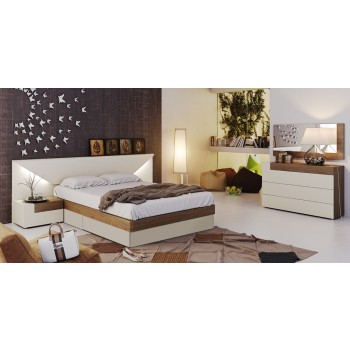 Elena King Size Storage Bedroom Set