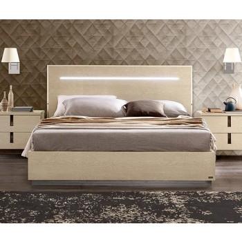 Ambra Legno Queen Size Bed