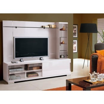 Capri Wall Unit, White