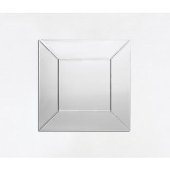 Costantia Small Square Silver Mirror
