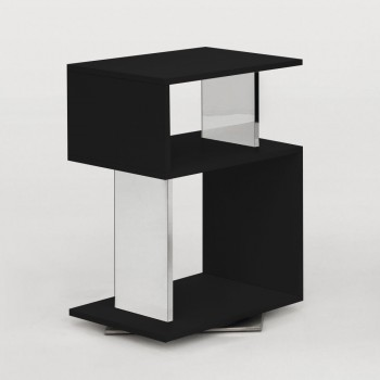 Airone Side Table, Matt Black