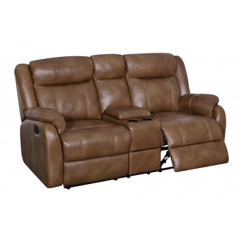 U7303C Loveseat, Walnut