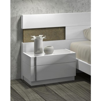 Amora Night Stand, Left Facing by J&M Furniture