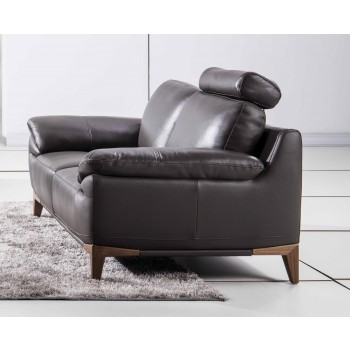 S93 Loveseat, Brown