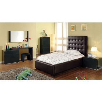 Athens 3-Piece Twin Size Bedroom Set, Chocolate by At Home USA
