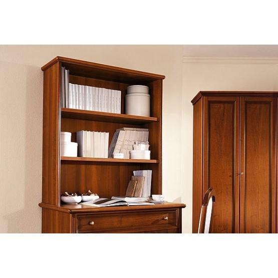 Nostalgia Bookcase for Writing Desk, Walnut photo