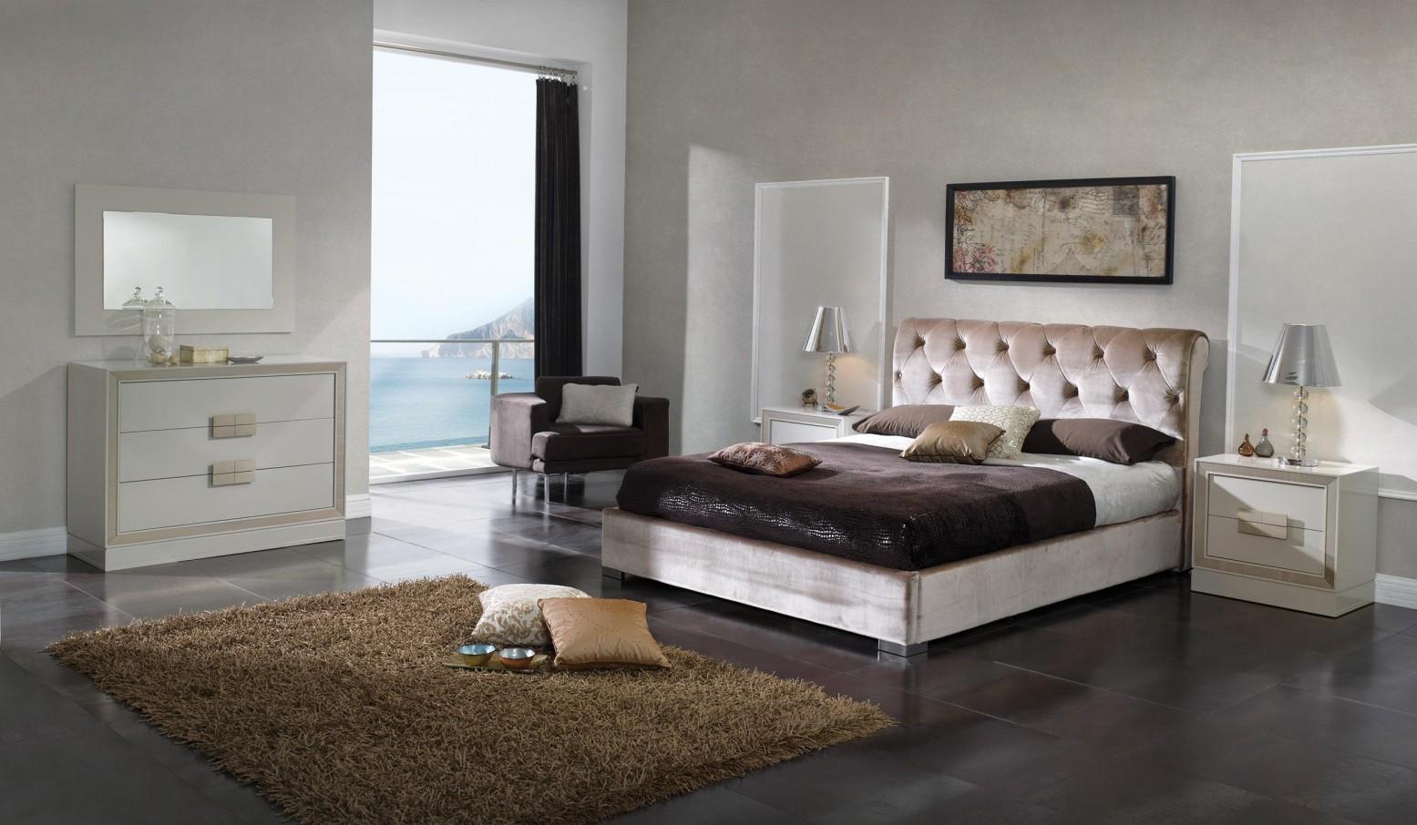 Miriam 3-Piece Queen Size Storage Bedroom Set by Dupen Furniture, Spain