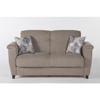 Aspen Loveseat, Forest Brown by Sunset International Trade