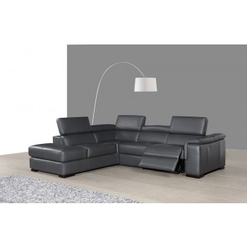 Agata Sectional, Left Arm Chaise Facing by J&M Furniture