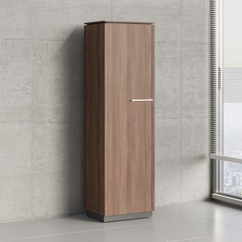 Status 1 Left Door Storage Cabinet X56, Lowland Nut